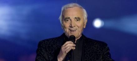 Remise du prix Charles Aznavour
