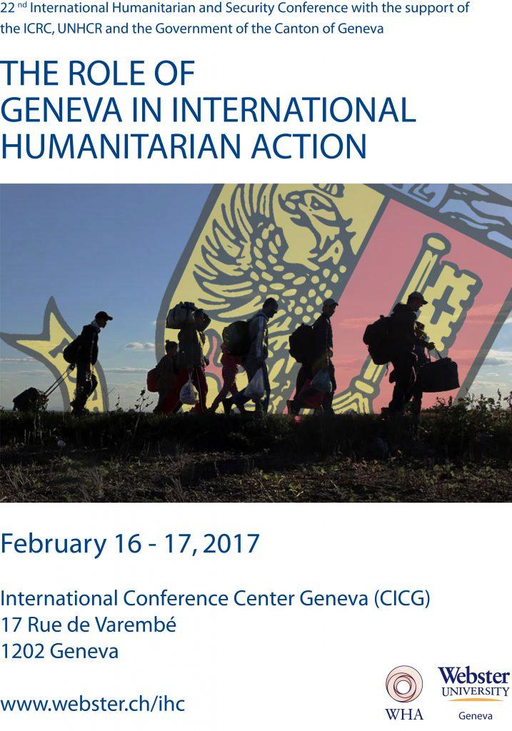 Le rôle de Genève dans l'action humanitaire internationale