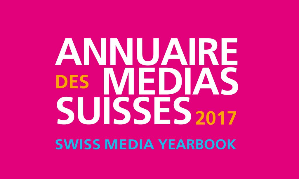 Annuaire des médias suisses 2017