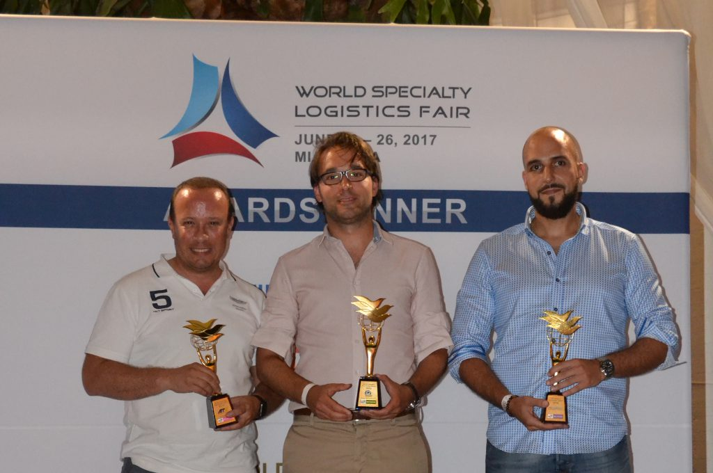 "NV Logistics has been awarded the prestigious trophy of ""WCA Pharma Best Partner 2016"""