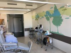 Des murs ensoleillés en Oncologie
