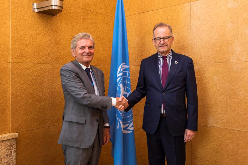 L'ONU Genève pourrait se doter d'un nouveau Portail des Nations d'ici 2023