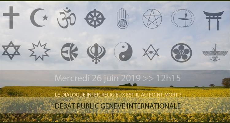 « Le dialogue inter-religieux est-il au point mort ? »