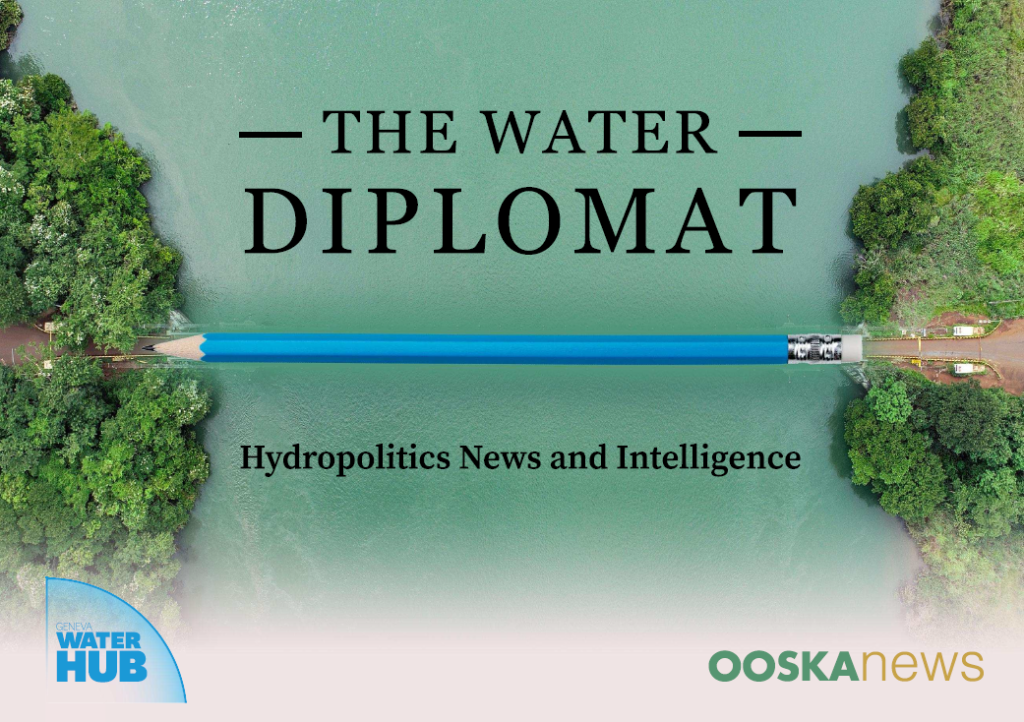 """Water as a Matter of Survival:  Launch of the global media platform """"The Water Diplomat"""""""