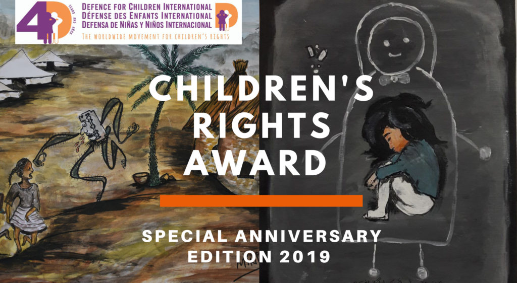 "Children's Rights Award: ""Hear my Story, know my rights"" Special Anniversary Edition 2019"