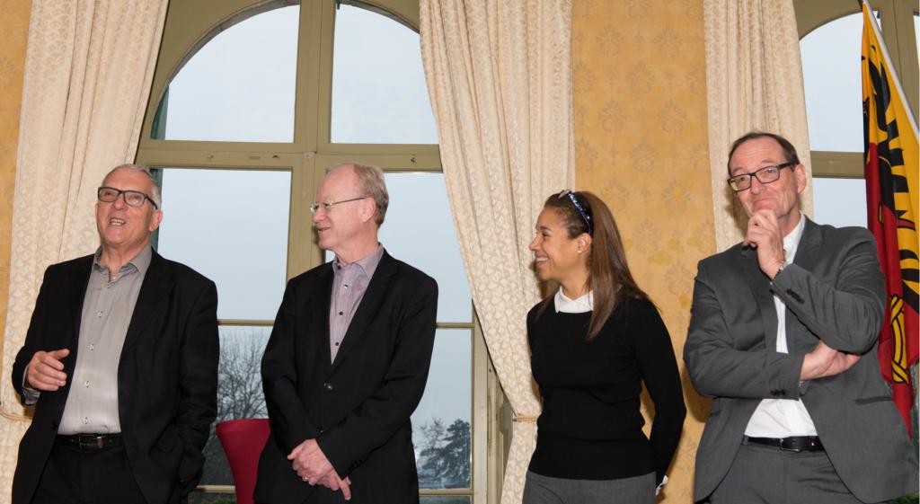 Changement de direction au Club suisse de la presse. Pierre Ruetschi succède à Guy Mettan