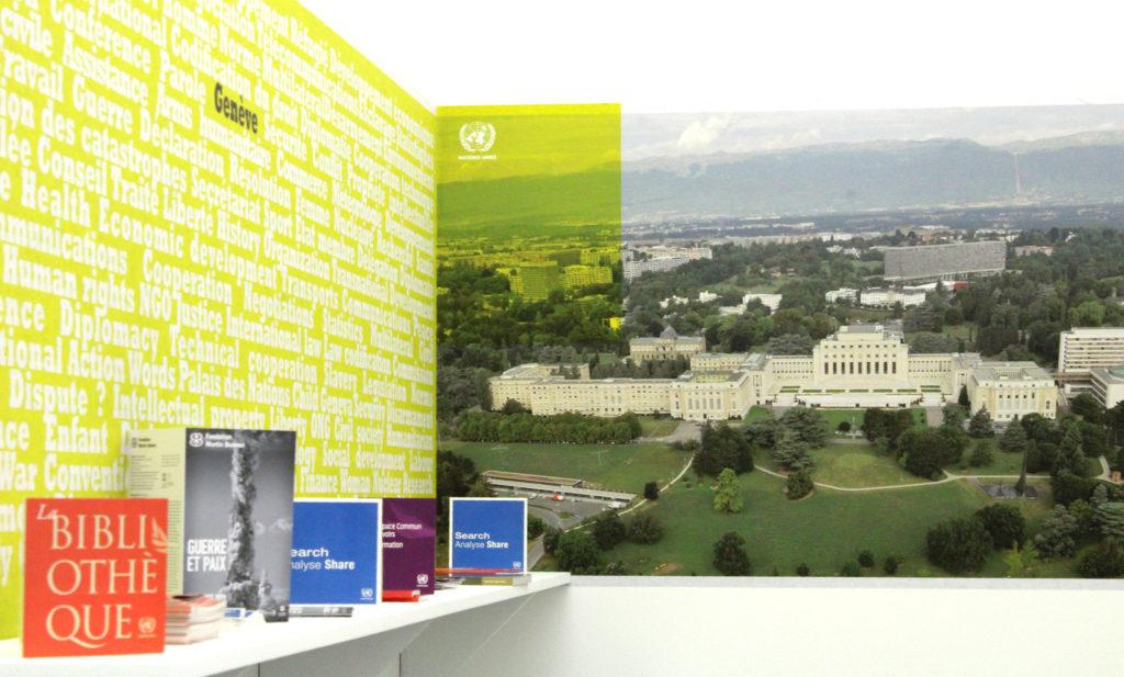 « 100 ans de multilatéralisme à Genève », visite commentée de l'expositionaux Nations Unies