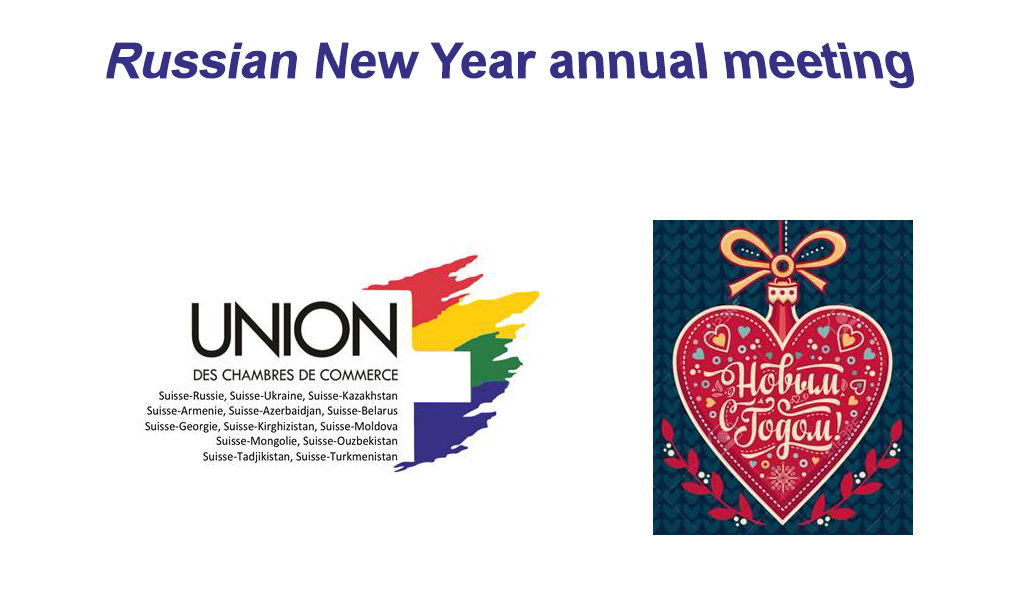 Russian New Year annual meeting