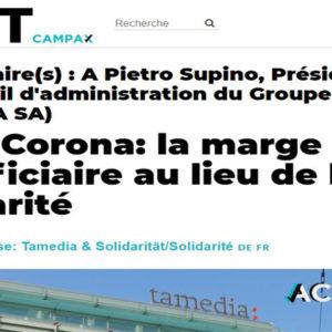 Coronavirus: pétition contre Tamedia qui finit par maintenir les salaires des journalistes