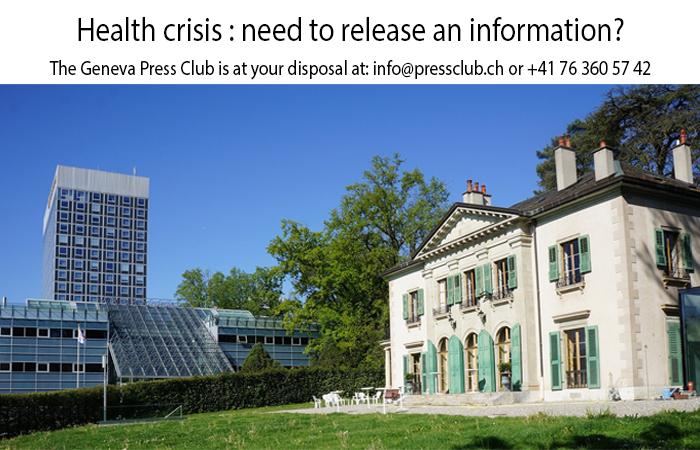 The Geneva Press Club offers digital opportunities for communicators