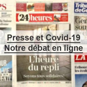 Covid-19: la presse remplit-elle sa mission d'information?