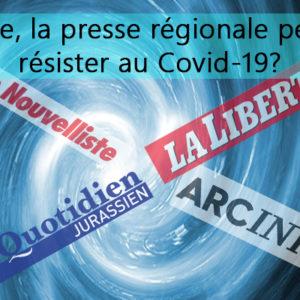 Affaiblie, la presse régionale peut-elle résister au Covid-19?