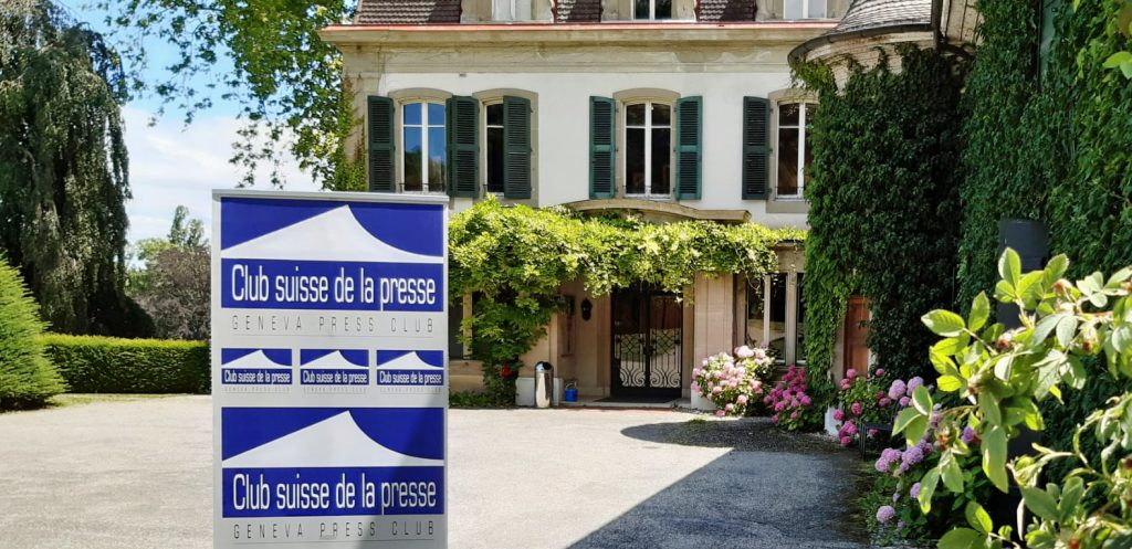 The Geneva Press Club moves to the Domaine de Penthes and expands its services