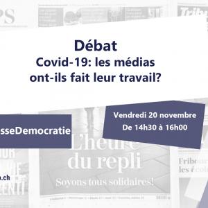 Grand débat: Covid-19, est-ce que les médias ont fait leur travail?