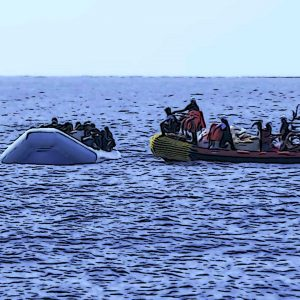 Are NGOs complicit in the smuggling of migrants in the Mediterranean?