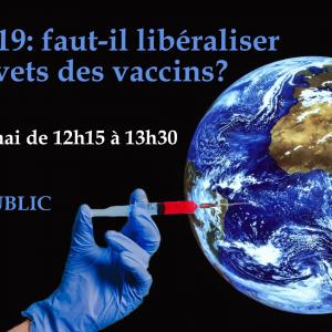 Covid-19: faut-il libéraliser les brevets des vaccins?